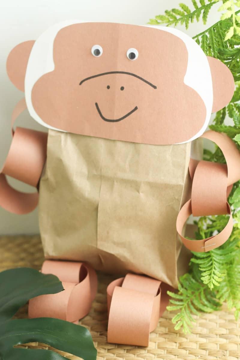 Jungle Animals Paper Craft