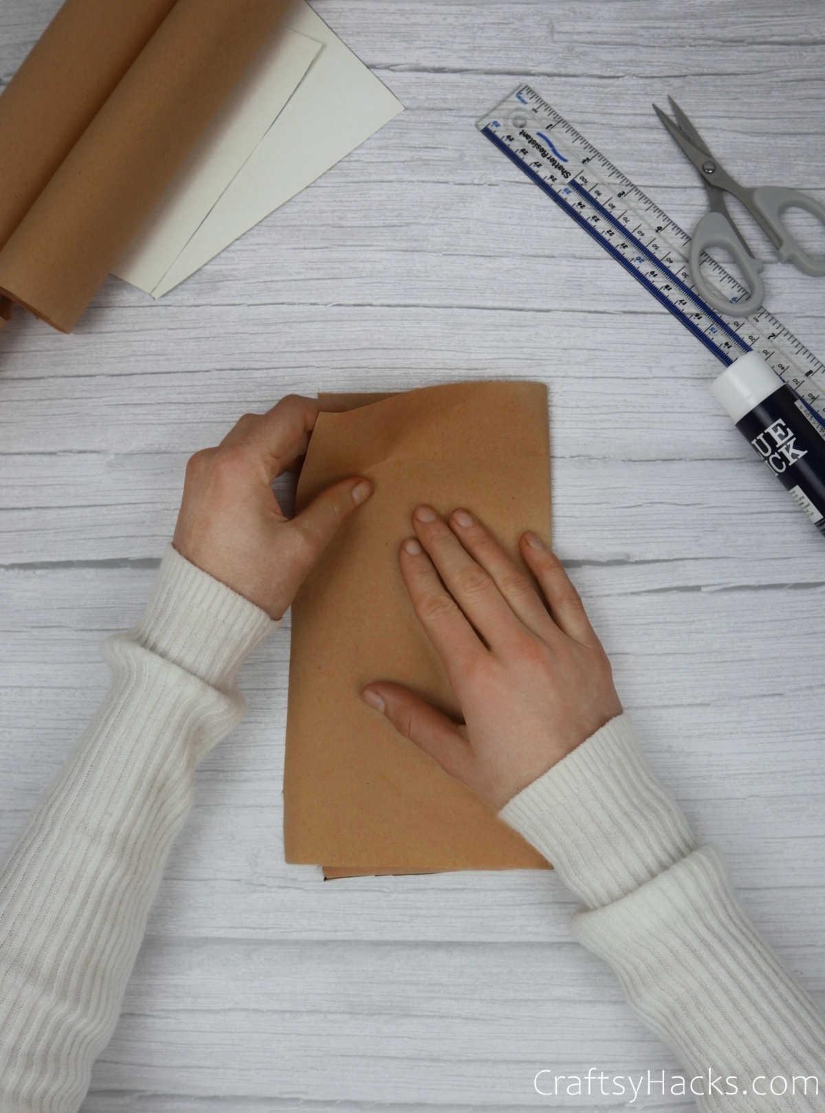 folding craft paper