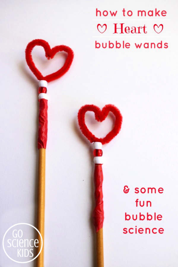 Heart Shaped Bubble Wand