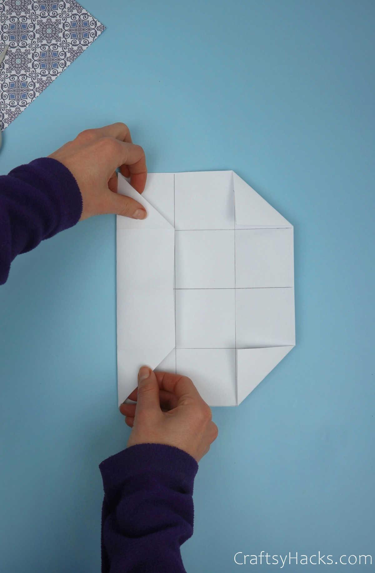folding in left side