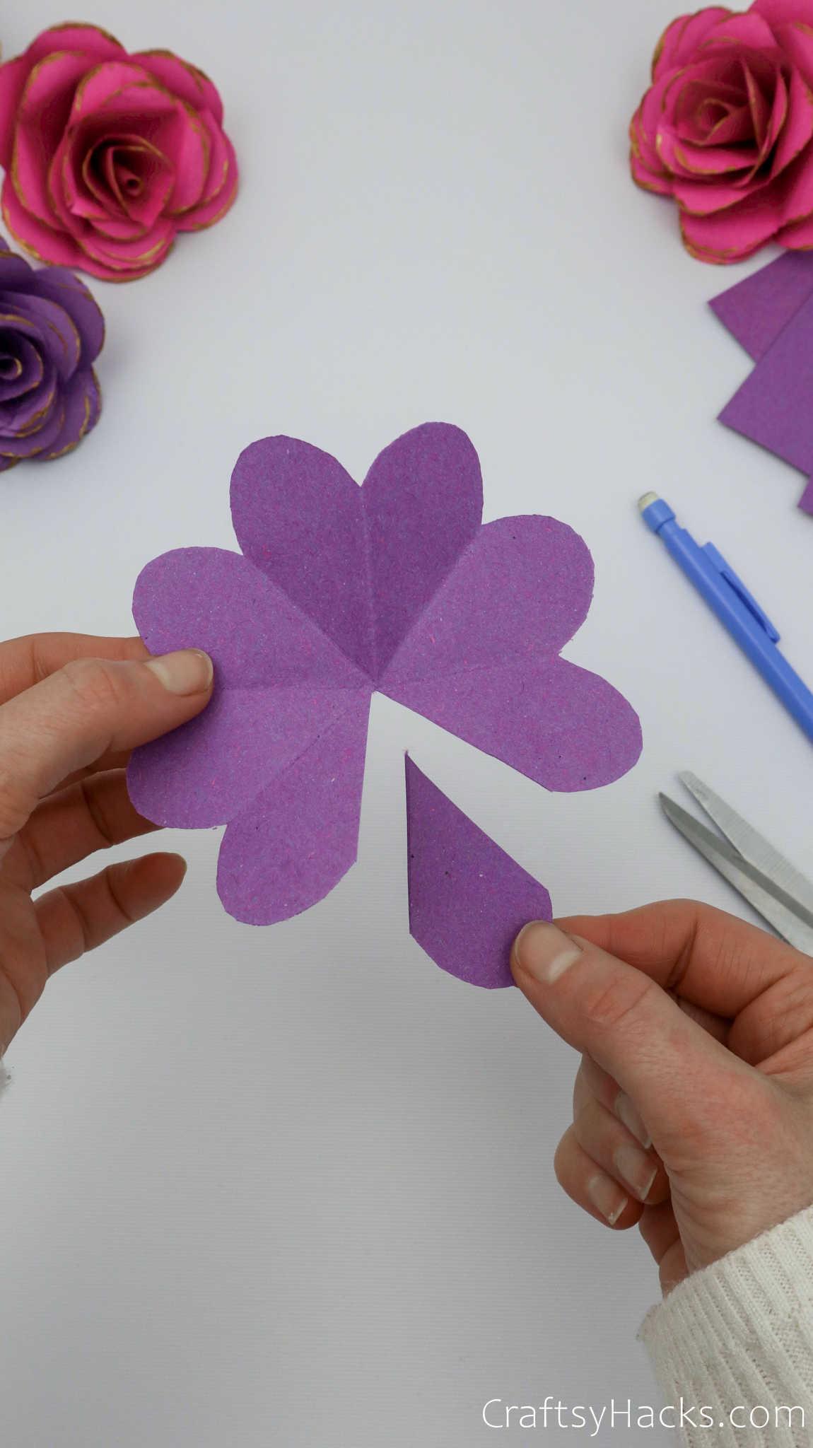 cut out petal