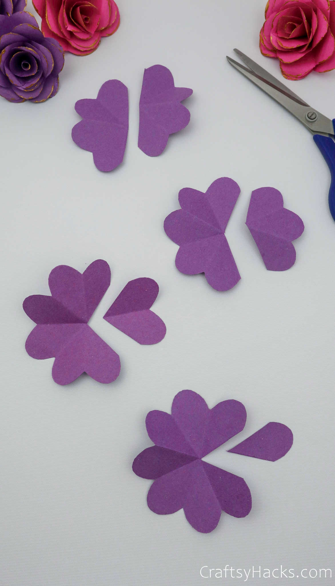 paper flower cutouts