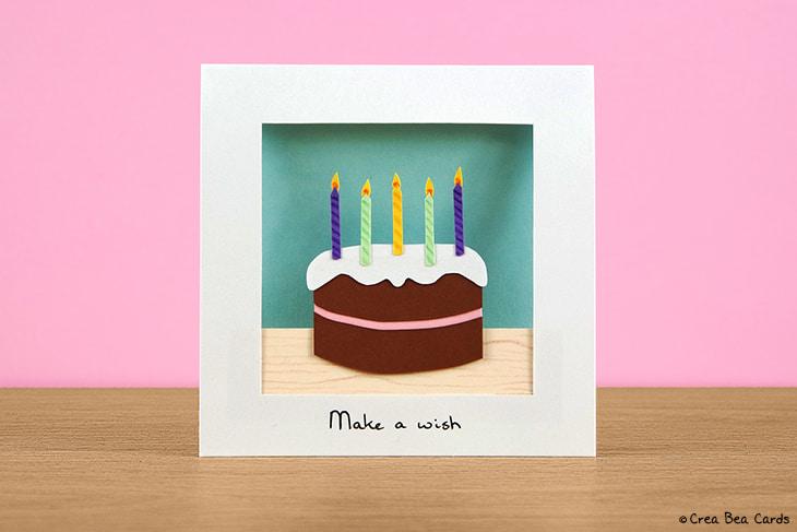 Chocolicious Birthday Card