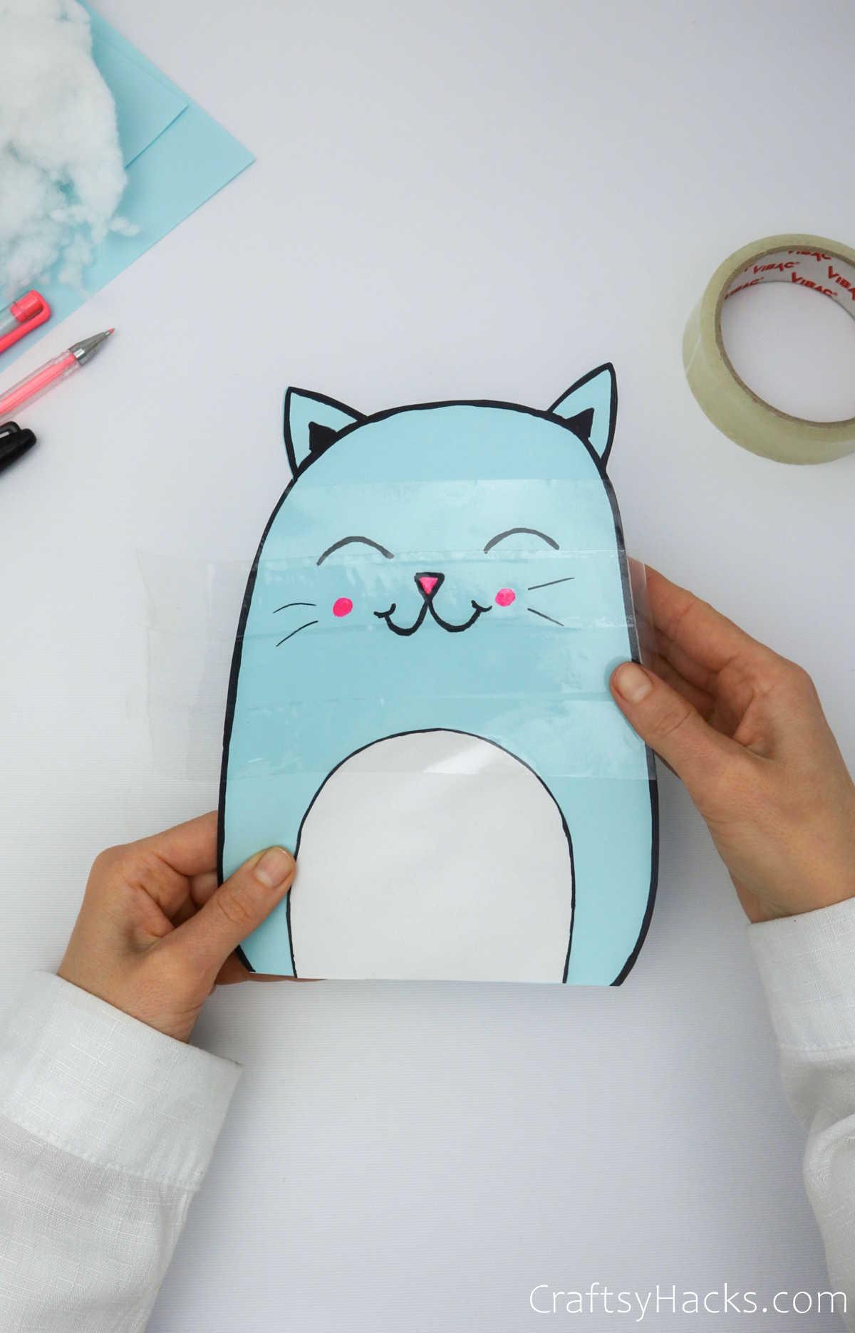 taping paper squishie