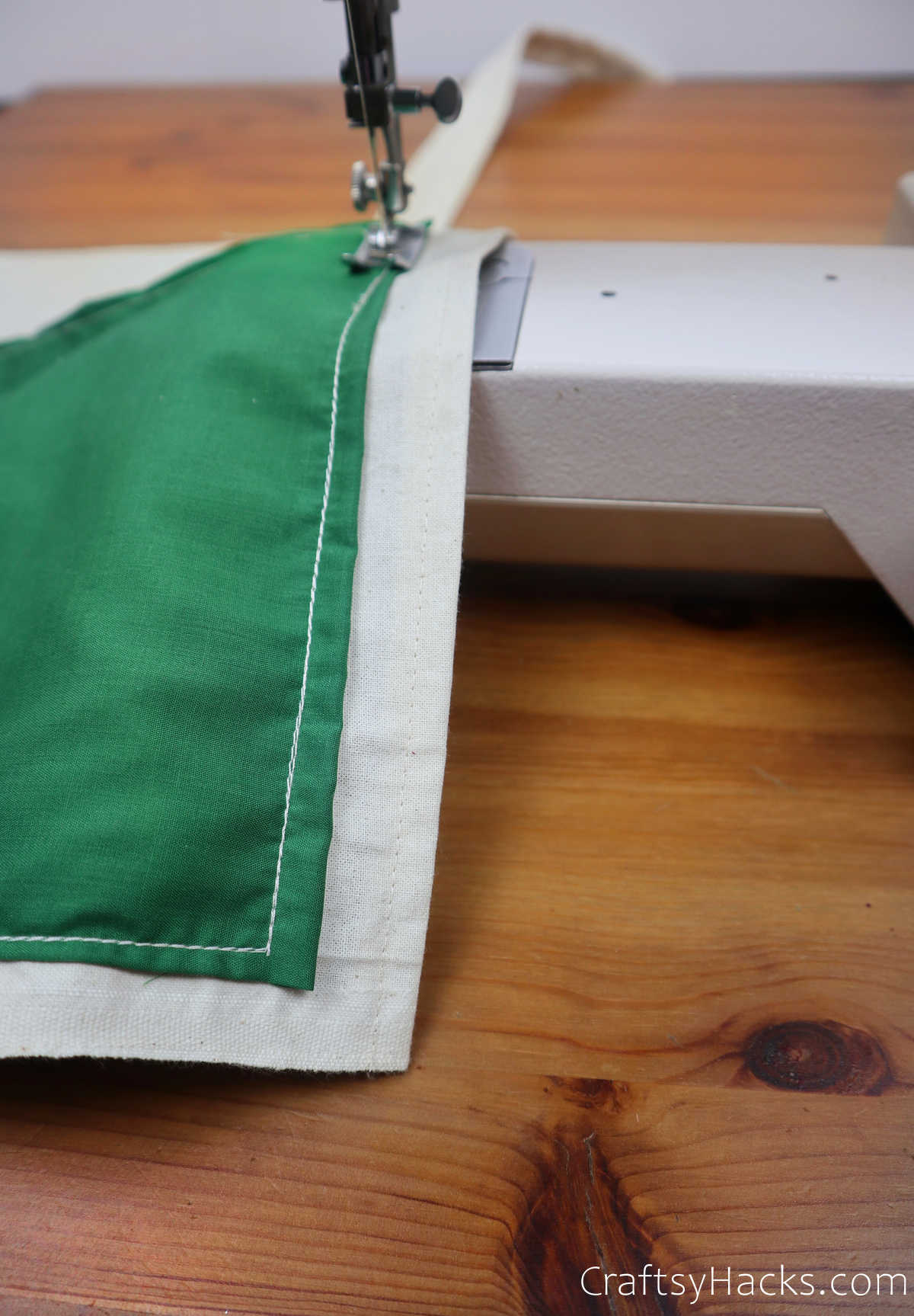 sewing pocket to fabric