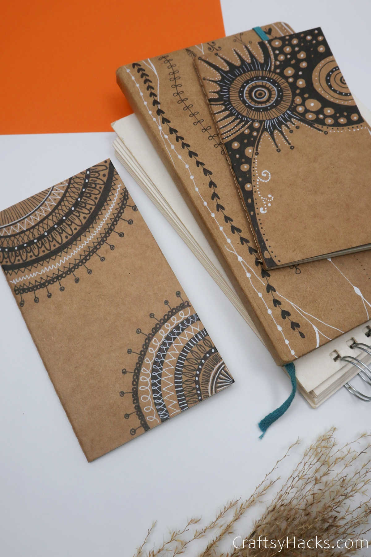 pile of journal covers