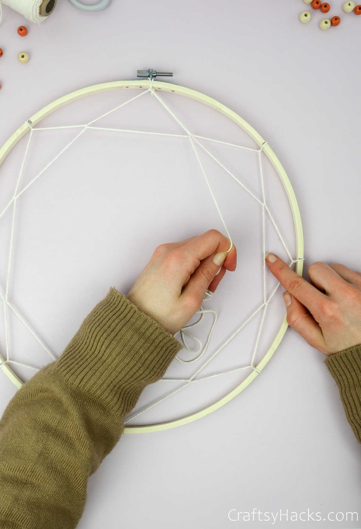 adding third layer of string