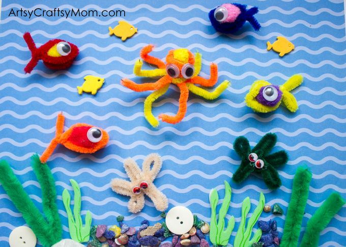 Pipe Cleaner Fishing Game