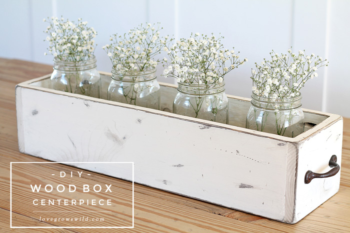 Woodbox Centrepiece