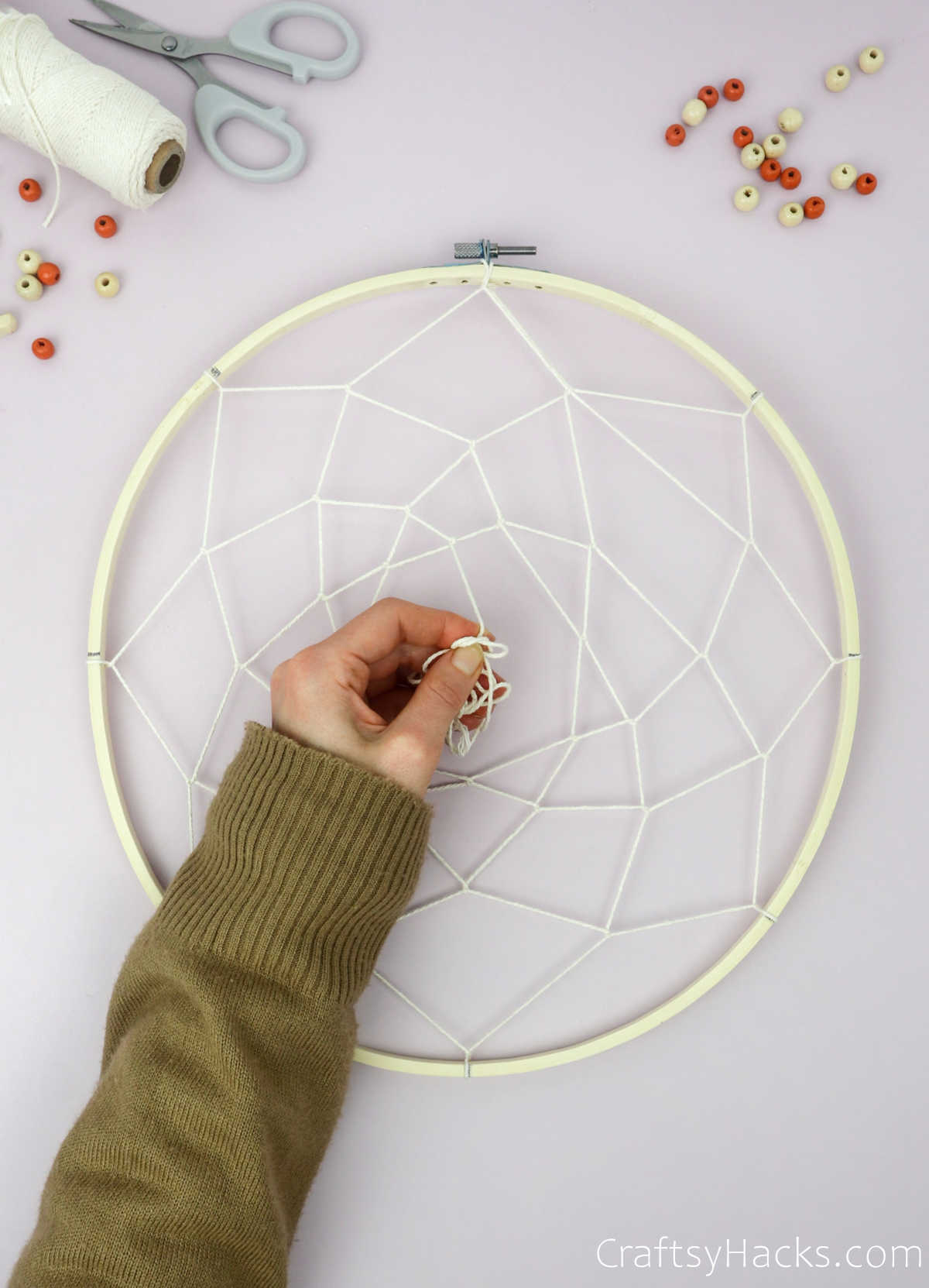 adding more layers of string