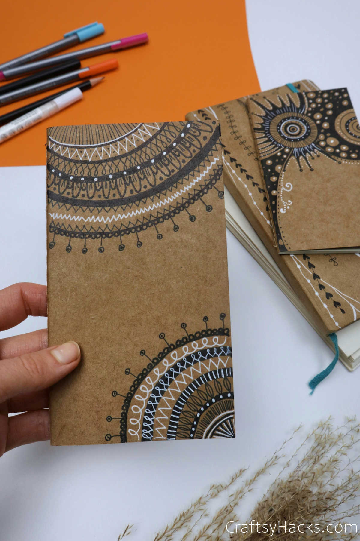 completed journal cover