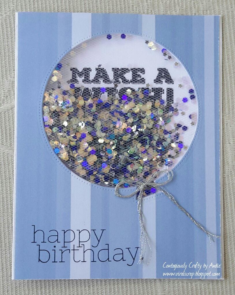 Tulle Birthday Balloon