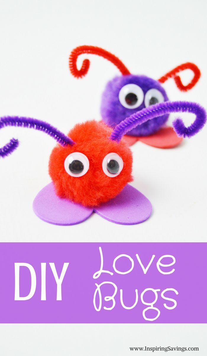Valentine's Day Love Bug Craft