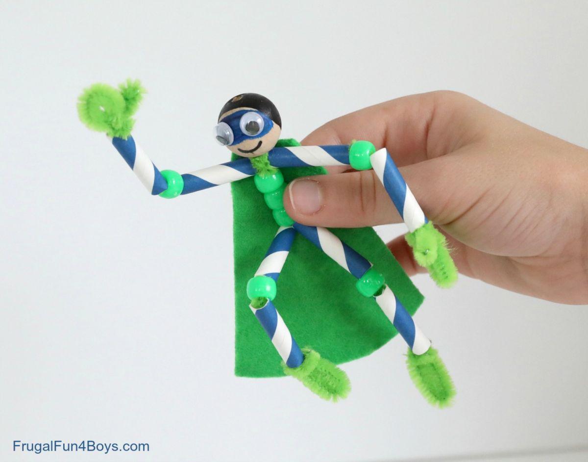 Pipe Cleaner Super Hero