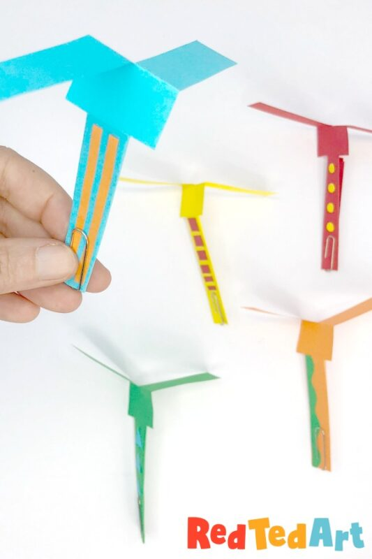 Helicopter Paper Craft