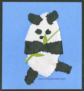 Torn Paper Panda
