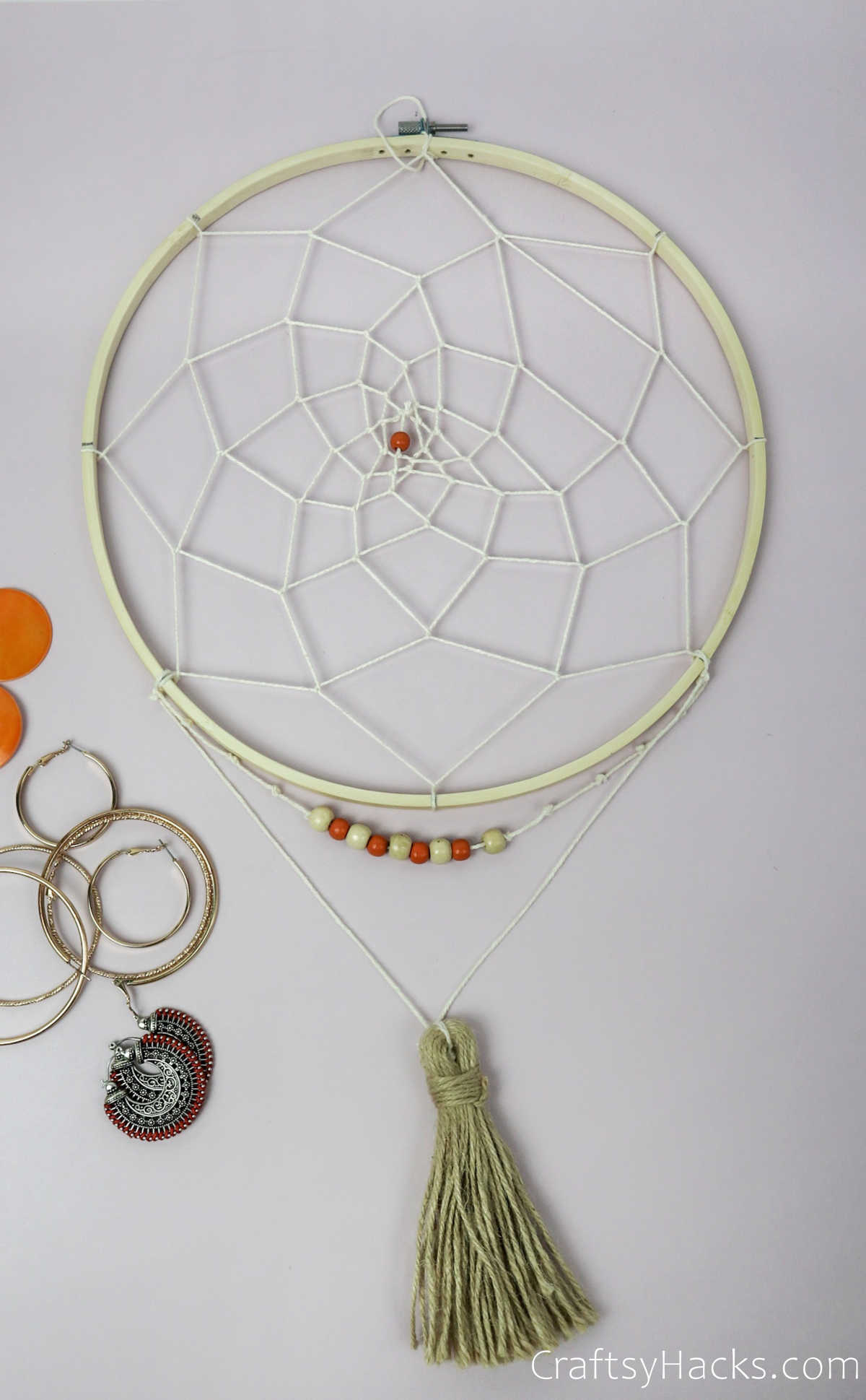 finished jewelry hoop
