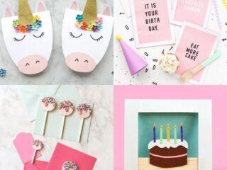 diy birthday card ideas