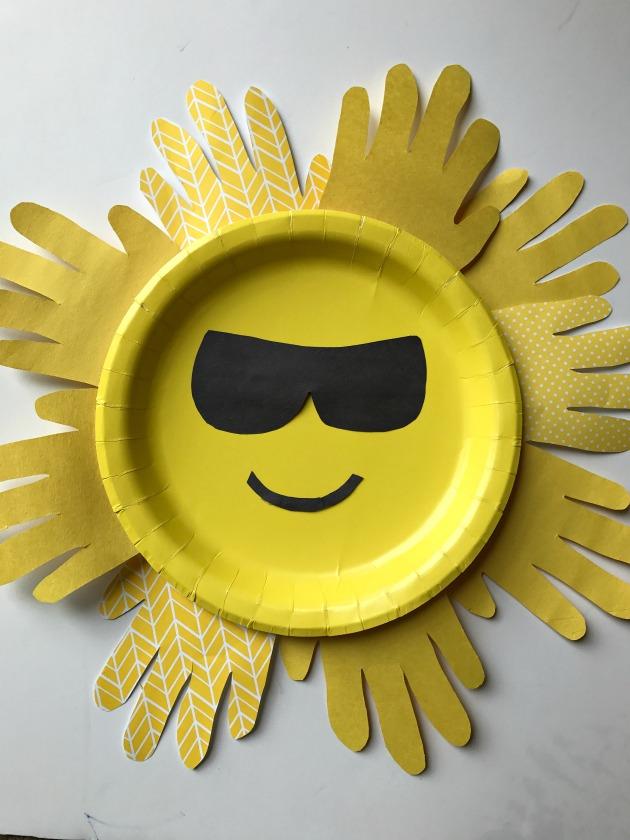 Sun Paper Plate