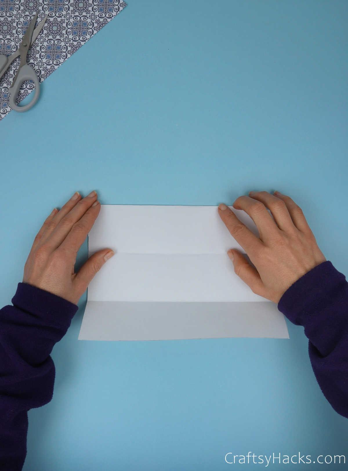 unfolding paper