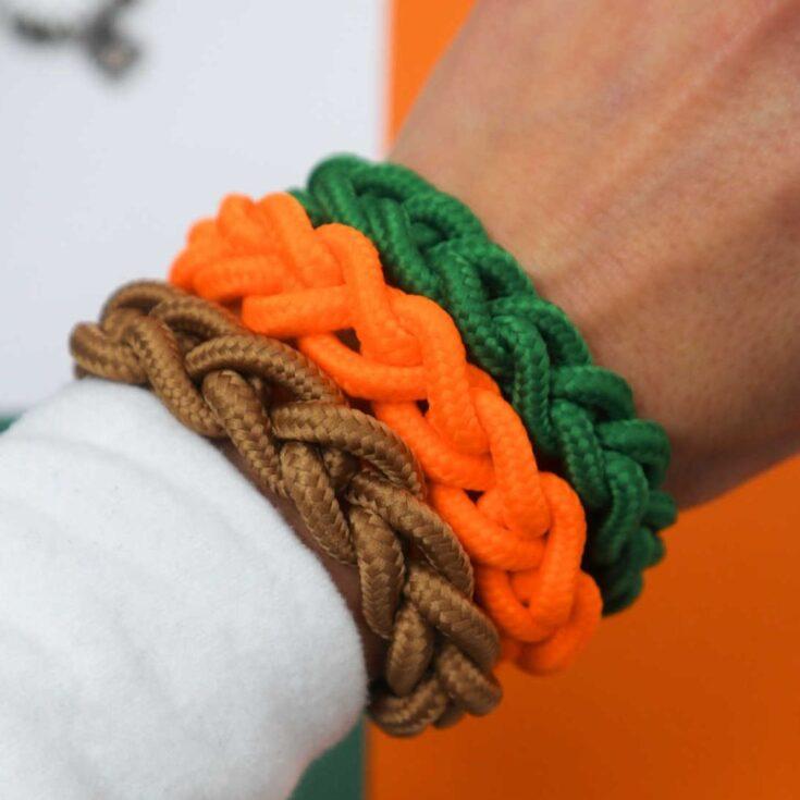 shoe laces bracelet
