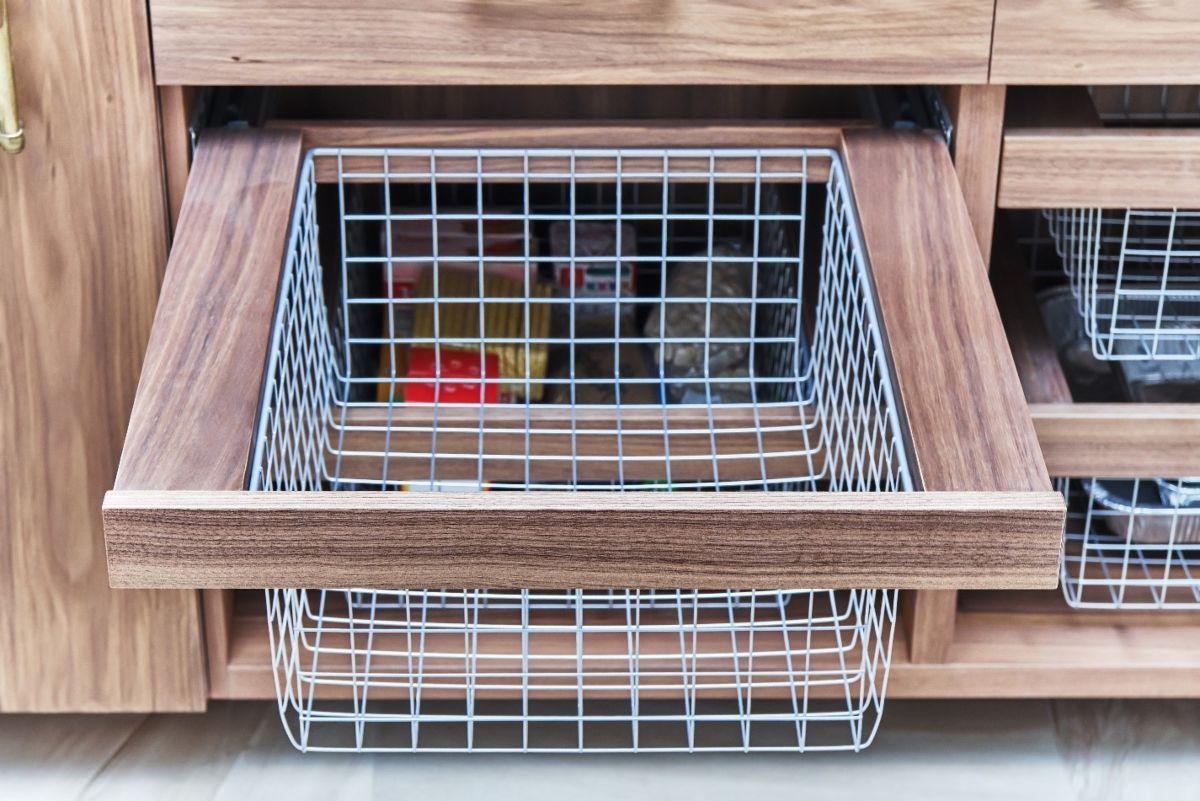 Wire Storage Drawers
