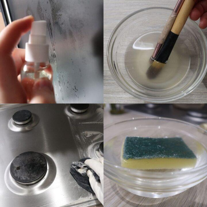 vinegar cleaning tips