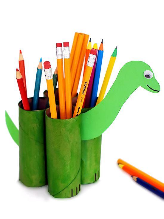 Dinosaur Pencil Holder