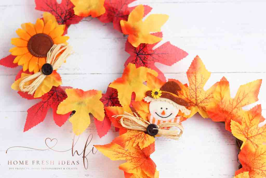 Scarecrow Wreath Craft