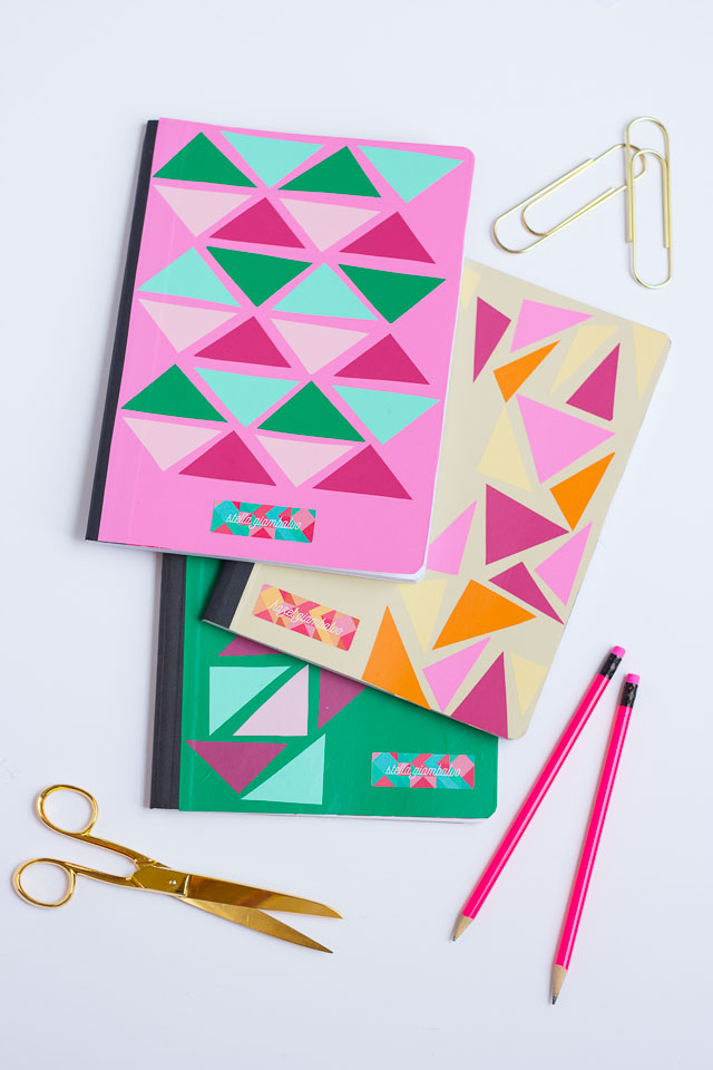 Vinyl Personalized Notebook