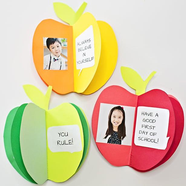 3D Paper Apple Book