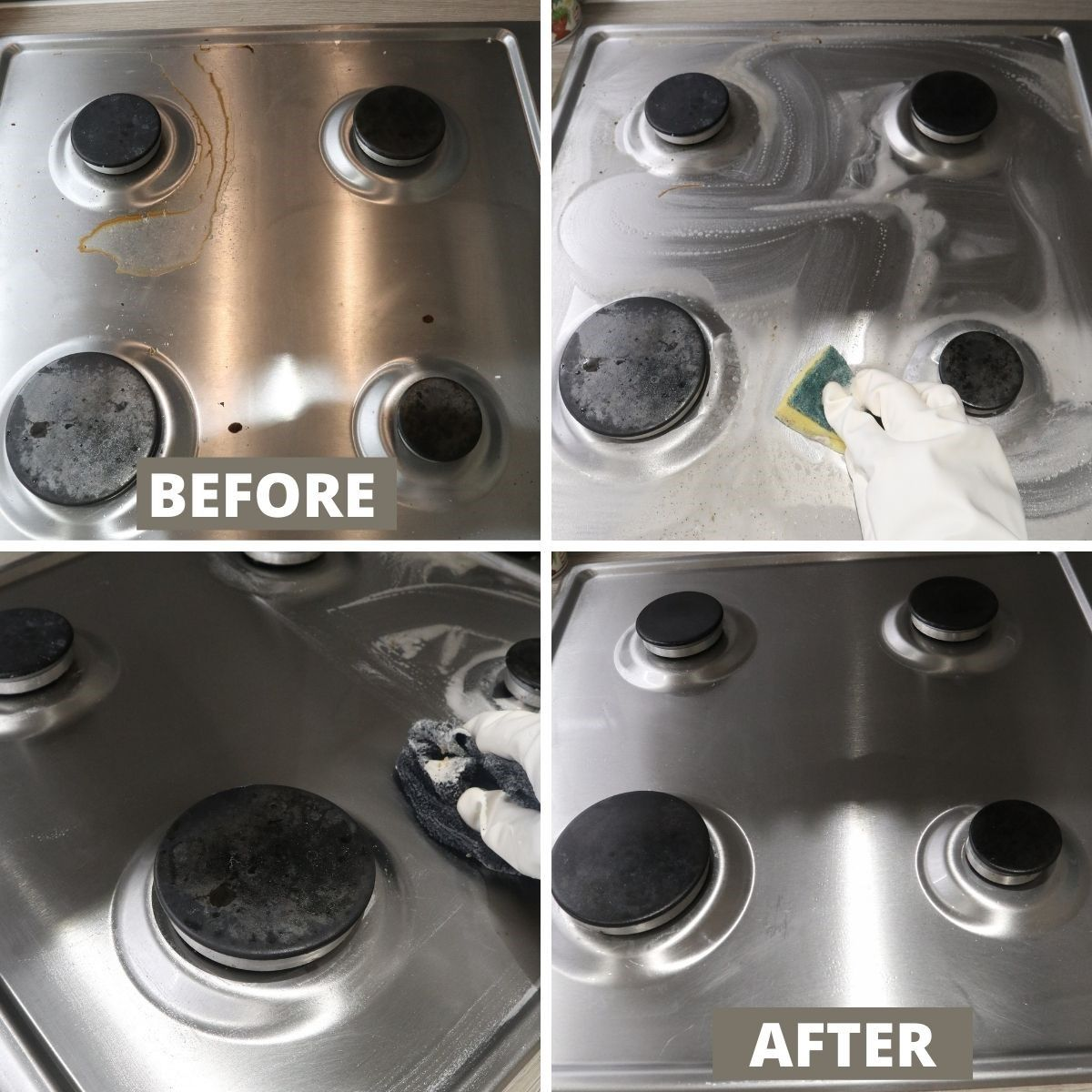 Clean Your Stove Tops