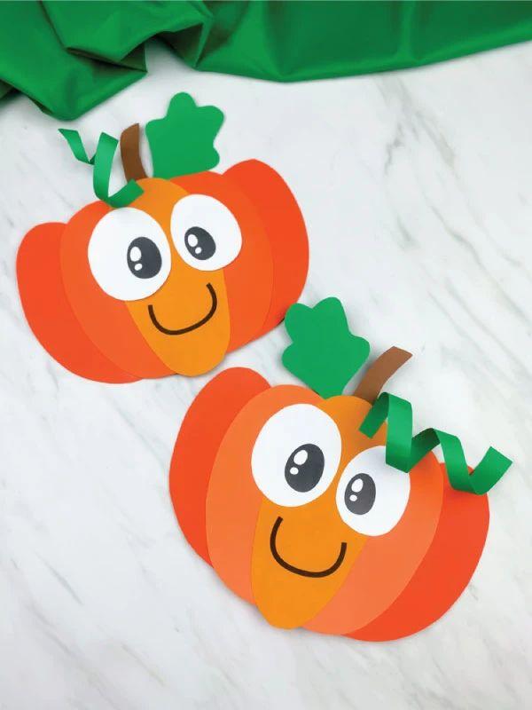 Pumpkin Craft For Preschoolers