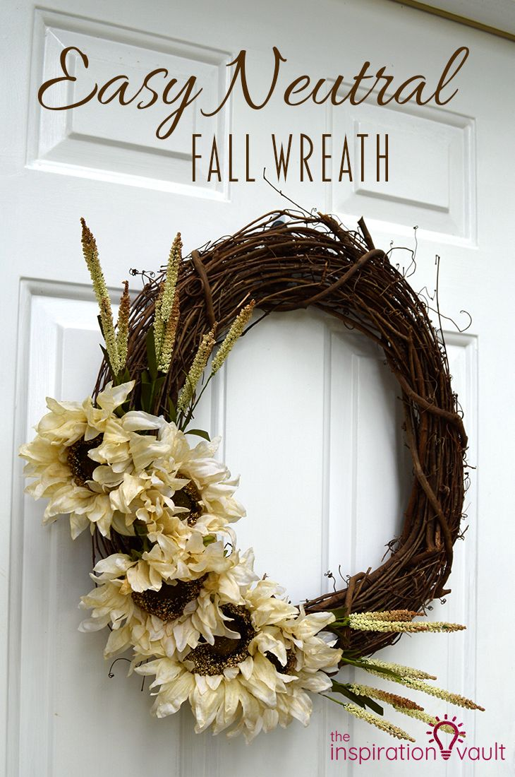Neutral Fall Wreath