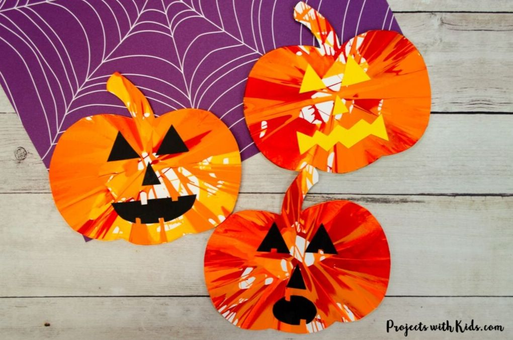 Pumpkin Spin Painting