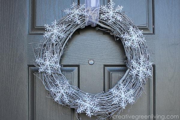 Snowy Winter Wreath