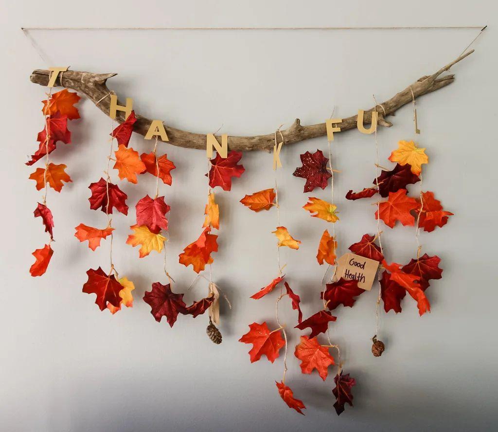 Thankful Thanksgiving Wall Hanging