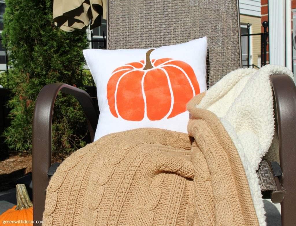 DIY Fall Pillow