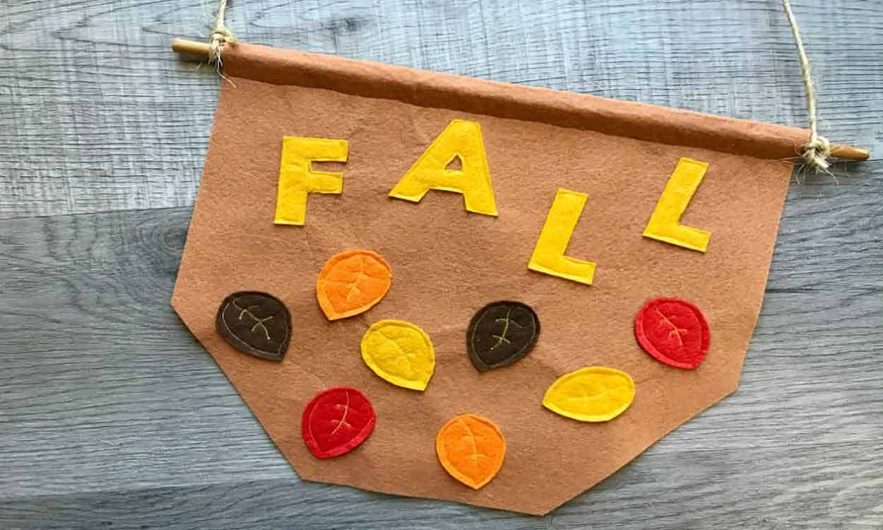 Fall Leaves Sewing Project
