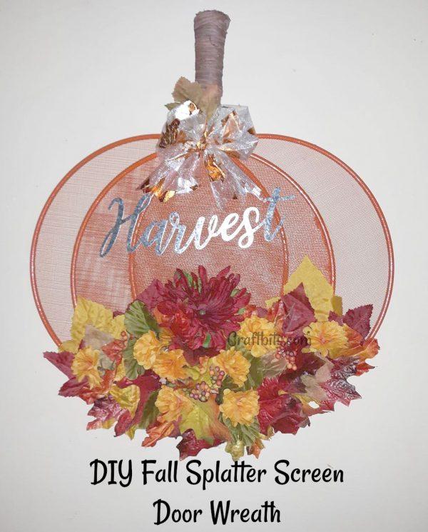 Fall Wreath Harvest