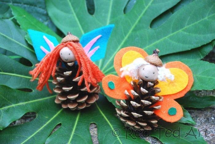 Pinecone Fairies