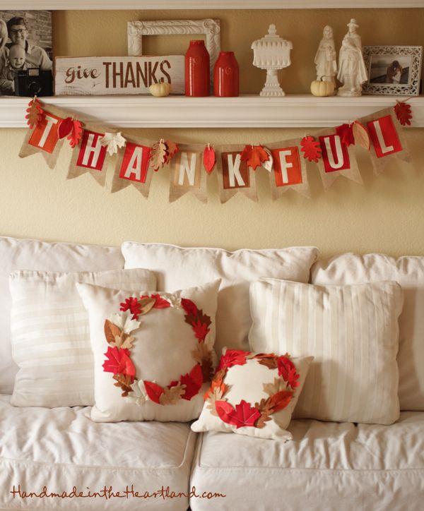 DIY Thanksgiving Banner