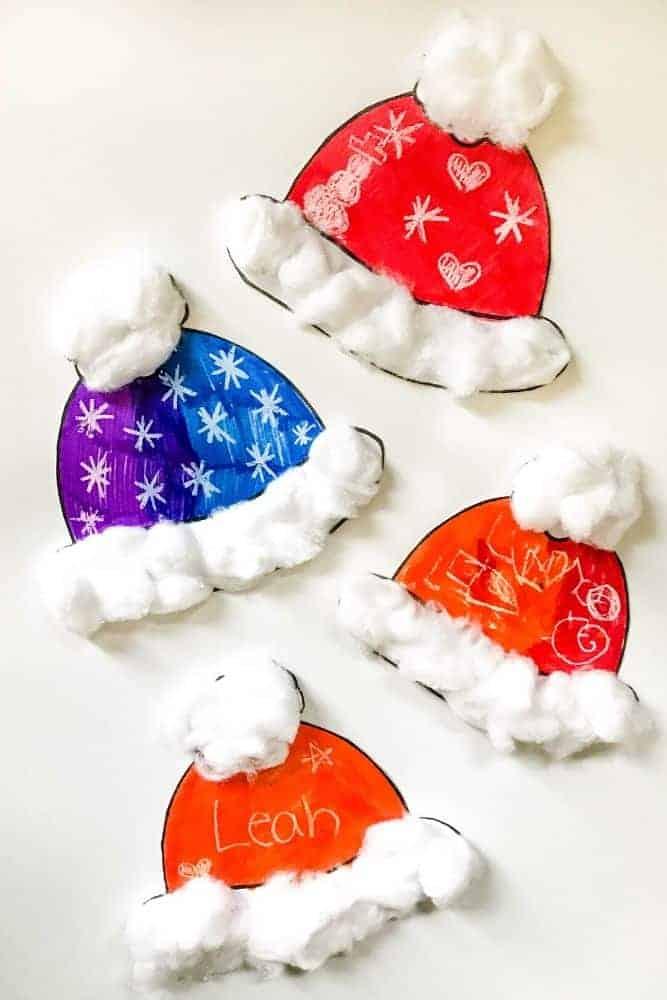 Winter Hat Craft