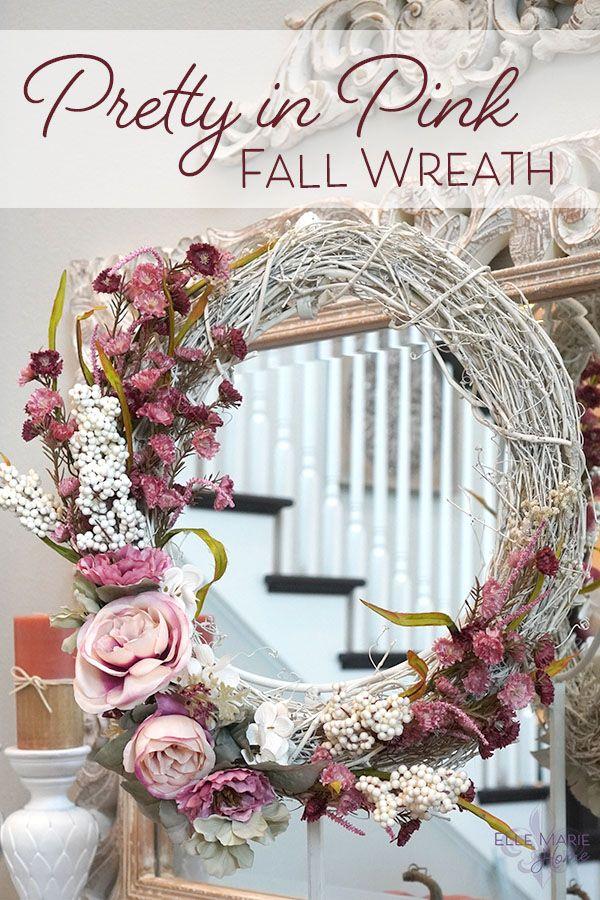 Pretty in Pink Wreath