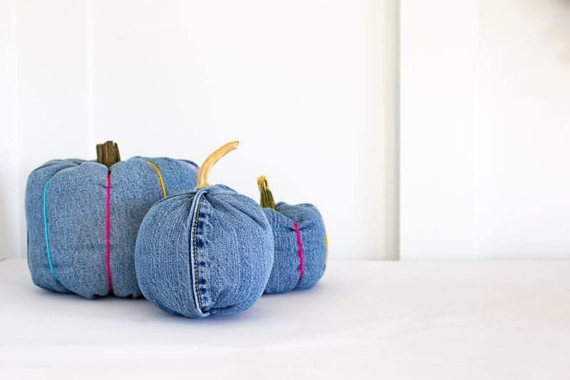 Old Jeans Pumpkins