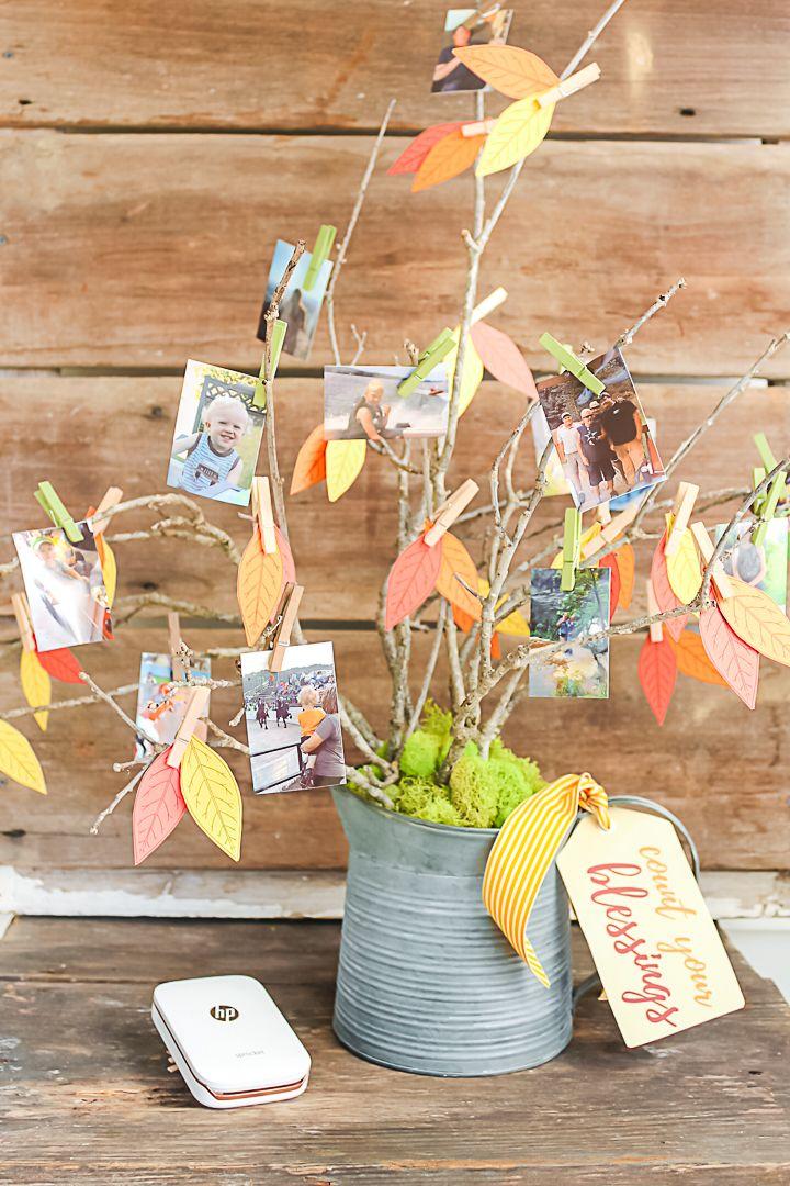 Thankful Tree With Photos
