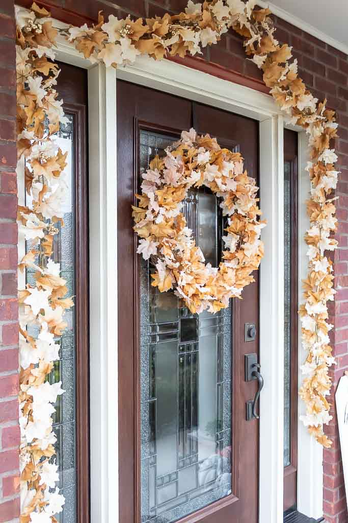 Leafy Grapevine Autumn Wreath