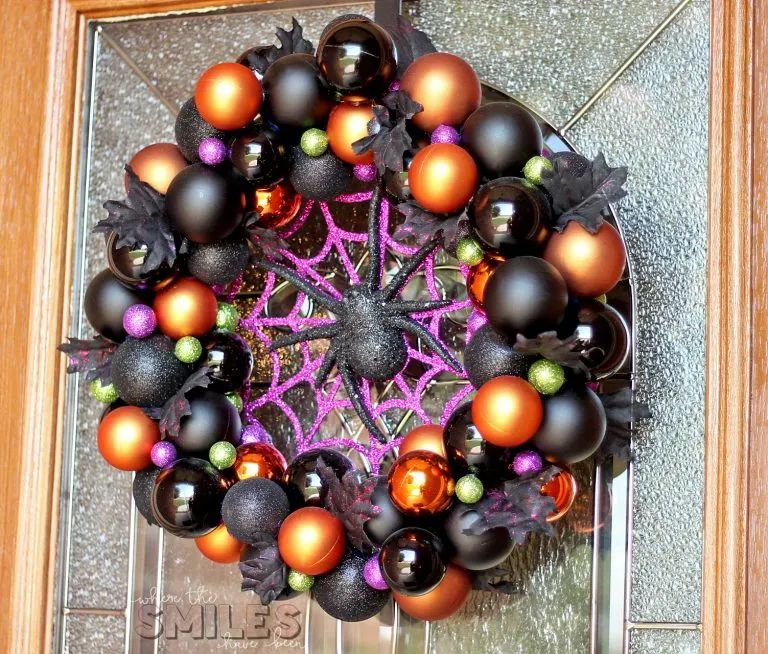 Spider Ornament Wreath