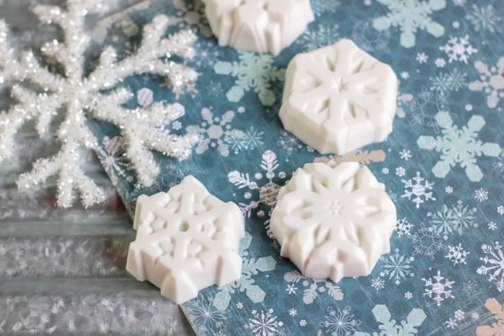 Winter Snowflake Soap