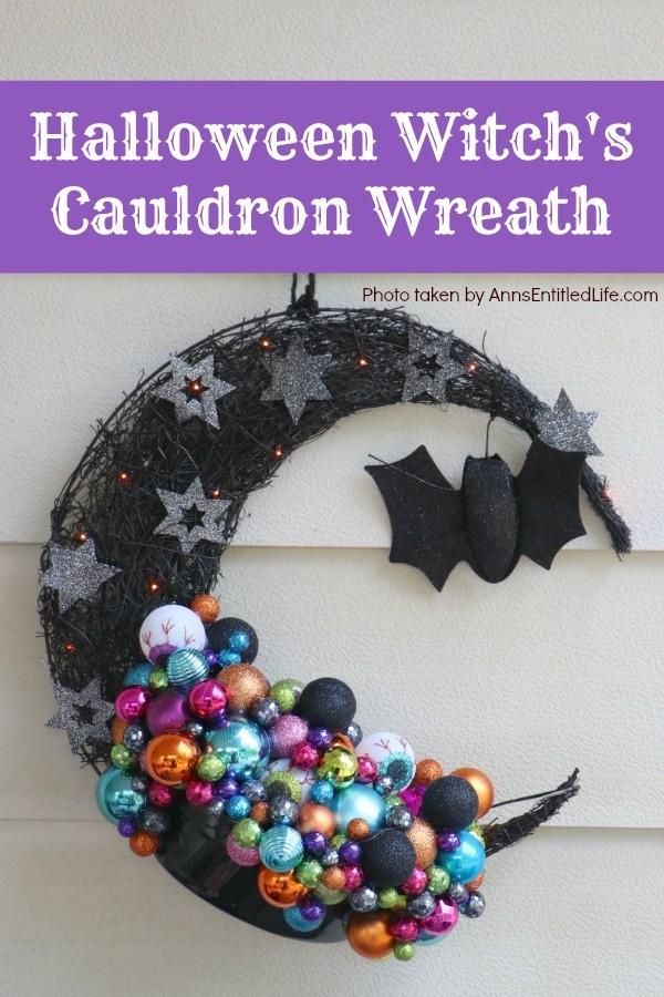 Witch's Cauldron Wreath